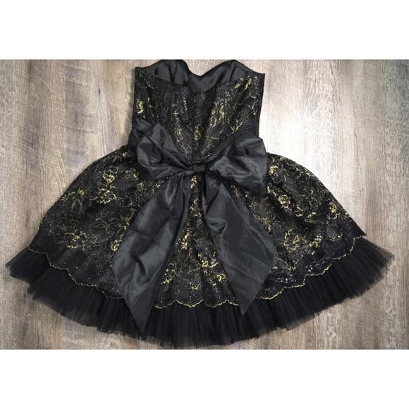 Betsy Johnson Lace Prom Dresses Long